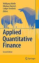 Applied quantitative finance.