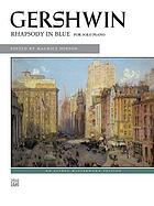 Rhapsody in blue : for solo piano