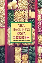 Nika Hazelton's Pasta cookbook.