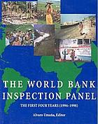 The Inspection Panel : annual report August 1, 2001 to June 30, 2002.