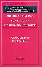 Difference methods for singular perturbation problems