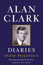 Diaries. Into politics, The long-awaited early years