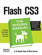 Flash CS3 : the missing manual