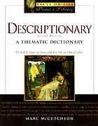 Descriptionary : [a thematic dictionary]