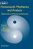 Nonsmooth mechanics and analysis : theoretical and numerical advances