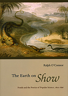 The earth on show : fossils and the poetics of popular science, 1802-1856