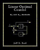 Linear optimal control : H₂ and H[infinity] methods
