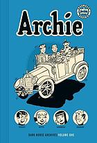 Archie archivesnVolume one.