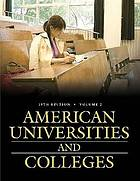 American universities and colleges.
