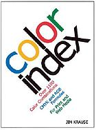 Color index : [over 1,100 color combinations, CMYK and RGB formulas, for print and Web media