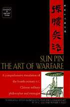 Sun Pin : the art of warfare