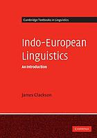 Indo-European linguistics : an introduction