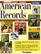 Goldmine standard catalog of American records : 1950-1975