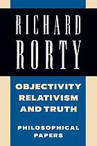 Objectivity, relativism, and truth