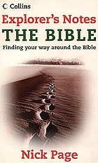 Explorer's notes : the Bible