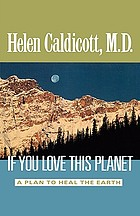 If you love this planet : a plan to heal the earth