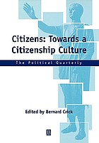 Citizens : towards a citizenship culture