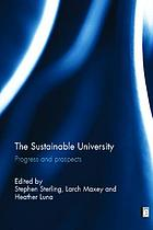 The sustainable university : progress and prospects