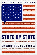 State by state : a panoramic portrait of America