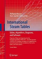 International steam tables : properties of water and steam based on the industrial formulation IAPWS-IF97 : tables, algorithms, diagrams, and CD-ROM electronic steam tables : all of the equations of IAPWS-IF97 including a complete set of supplementary backward equations for fast calculations of heat cycles, boilers, and steam turbines
