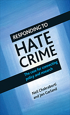 Responding to hate crime.