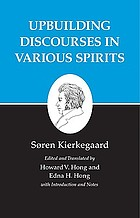Upbuilding discourses in various spirits