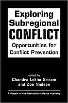 From promise to practice : strengthening UN capacities for the prevention of violent conflict