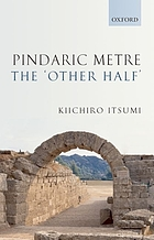Pindaric metre : 'the other half'