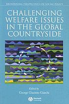 Challenging Welfare Issues in the Global Countryside cover image