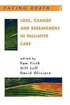 Loss, change, and bereavement in palliative care
