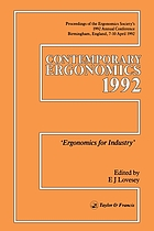 Design for manufacturability : a systems approach to concurrent engineering and ergonomics
