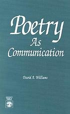Poetry as communication