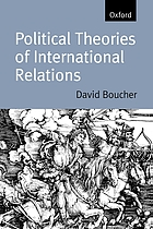 Political theories of international relations : from Thucydides to the present