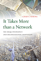 It takes more than a network : the Iraqi insurgency and organizational adaptation