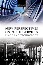 New perspectives on public services : place and technology