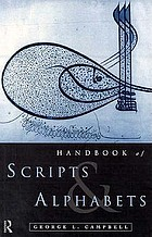 Handbook of scripts and alphabets.