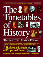 The timetables of history : a horizontal linkage of people and events