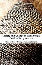 Society and change in Bali Nyonga : critical perspectives