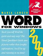 Word 2000 for Windows