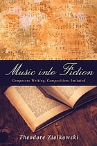 Music into fiction : composers writing, compositions imitated