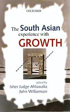 The South Asian experience with growth