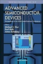 Advanced semiconductor devices : proceedings of the 2006 Lester Eastman Conference, Cornell, Ithaca, NY, USA, 26 August 2006