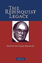 The Rehnquist legacy