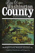 History of Washington County, Tennessee