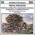 Symphony on a hymn tune (1928) ; Symphony no. 2 in C major (1931-41) ; Symphony no. 3 (1972) ; Pilgrims and pioneers (1964)