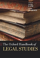 The Oxford handbook of legal studies
