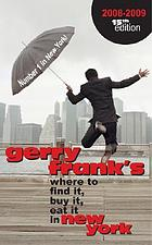 Gerry Frank's where to find it, buy it, eat it in New York.