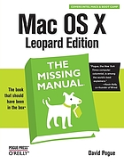 Mac OS X Leopard edition : the missing manual