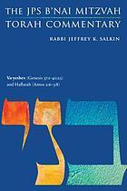 Va-yeshev (Genesis 37: the JPS B'nai Mitzvah Torah Commentary.