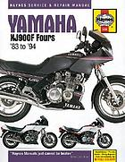 Yamaha XJ900F fours : service and repair manual